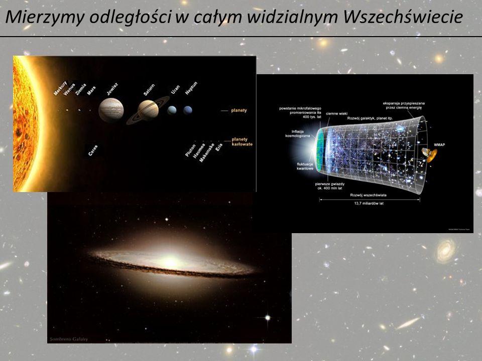 Mierzymy odległości w całym widzialnym Wszechświecie