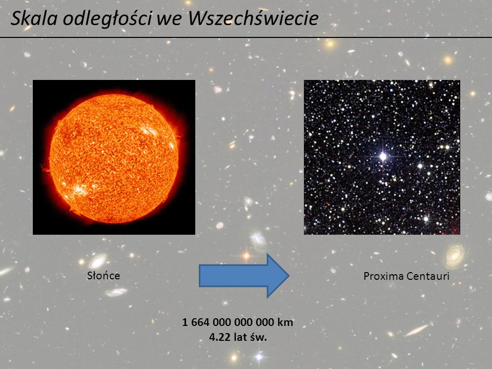 Skala odległości we Wszechświecie