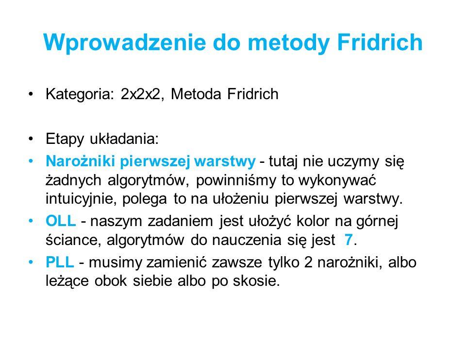 Wprowadzenie do metody Fridrich