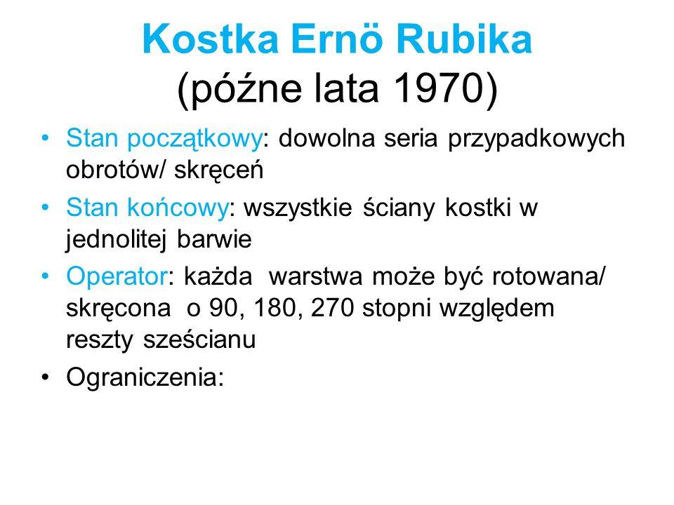 Kostka Ernö Rubika (późne lata 1970)
