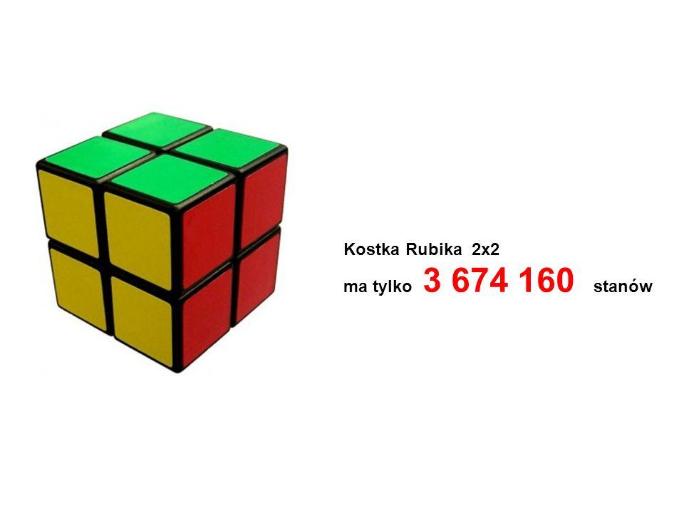 Kostka Rubika 2x2 ma tylko 3 674 160 stanów