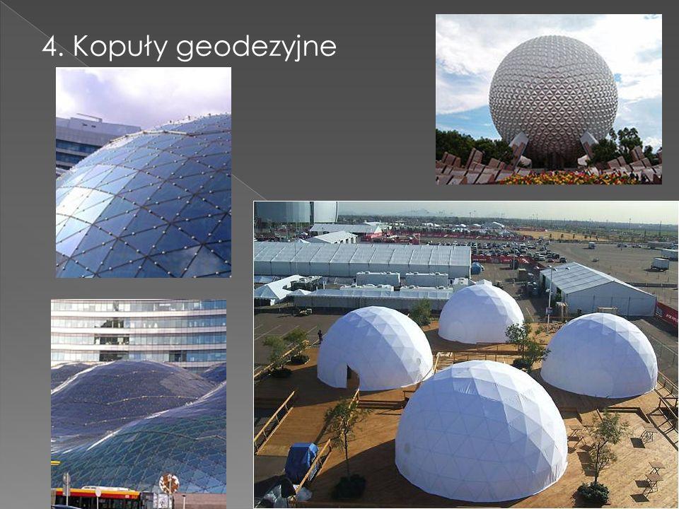 4. Kopuły geodezyjne
