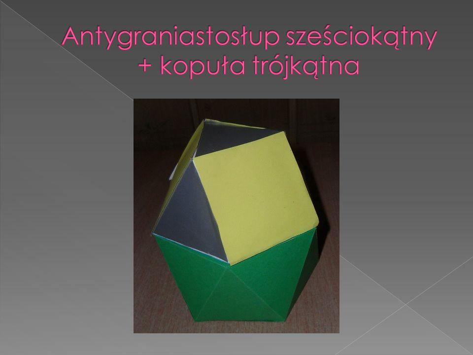 Antygraniastosłup sześciokątny + kopuła trójkątna