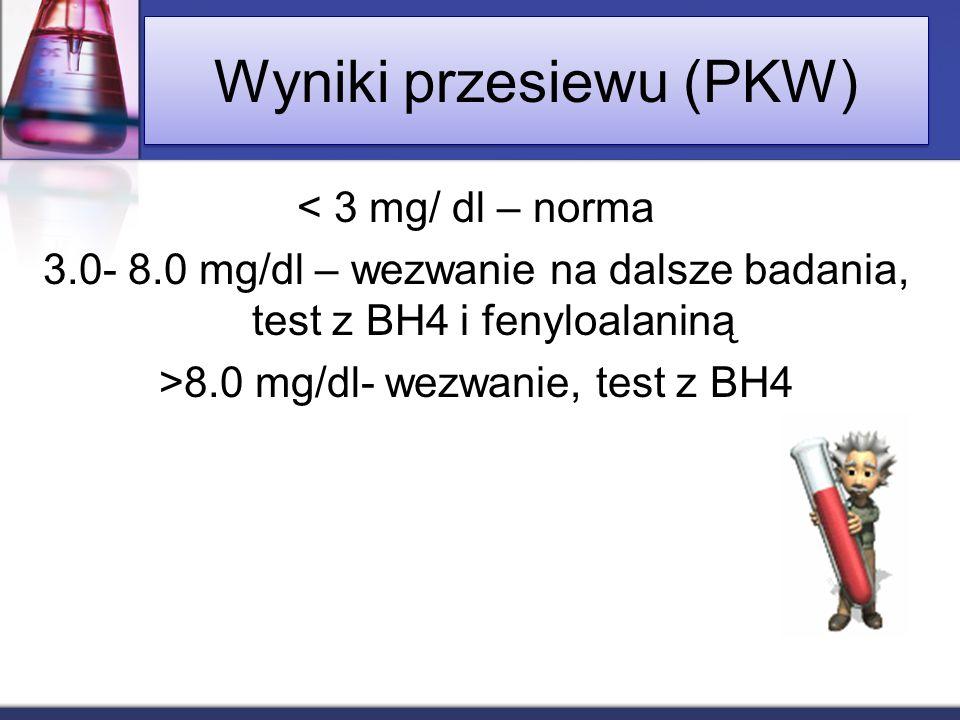 Wyniki przesiewu (PKW)