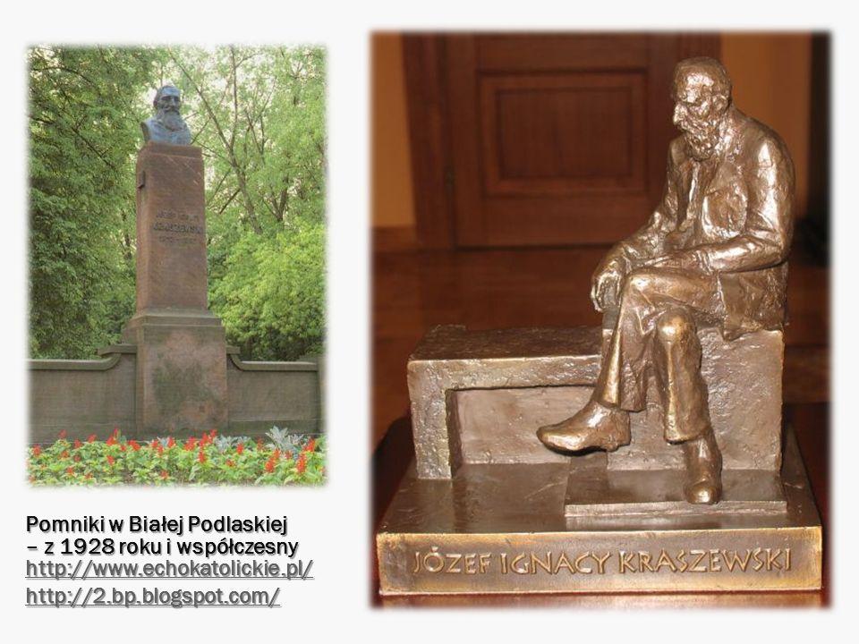 Pomniki w Białej Podlaskiej – z 1928 roku i współczesny http://www