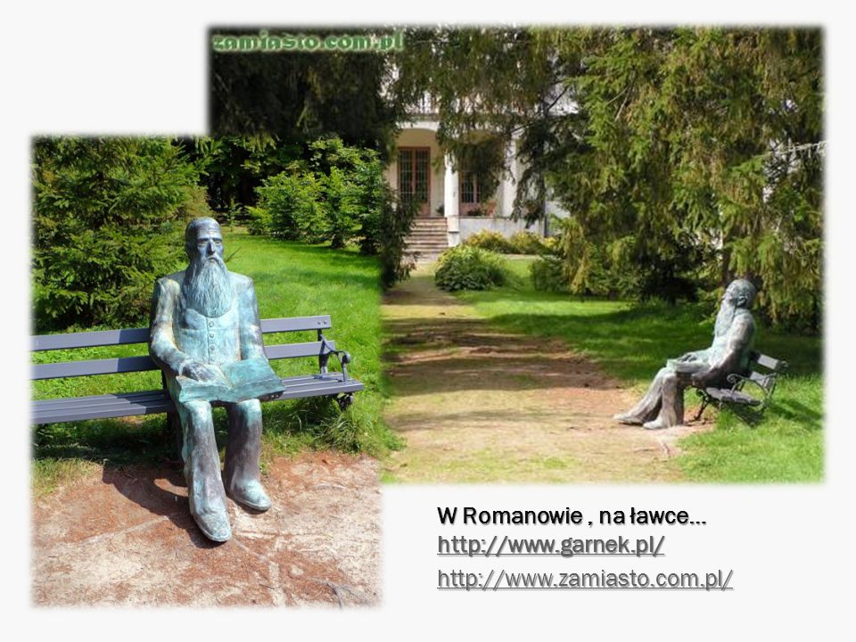 W Romanowie , na ławce… http://www.garnek.pl/