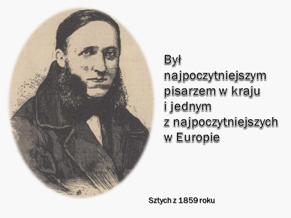 Był najpoczytniejszym pisarzem w kraju i jednym z najpoczytniejszych w Europie