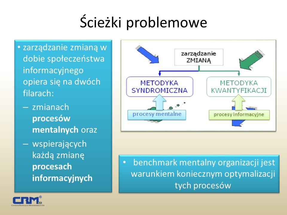 Ścieżki problemowe zarządzanie zmianą w dobie społeczeństwa informacyjnego opiera się na dwóch filarach: