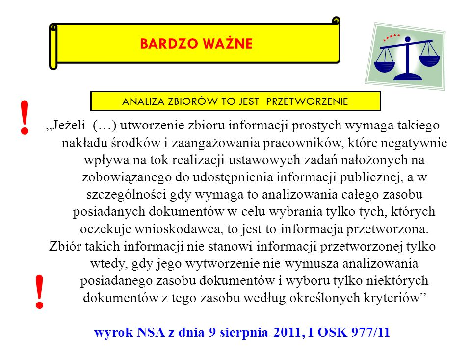 wyrok NSA z dnia 9 sierpnia 2011, I OSK 977/11