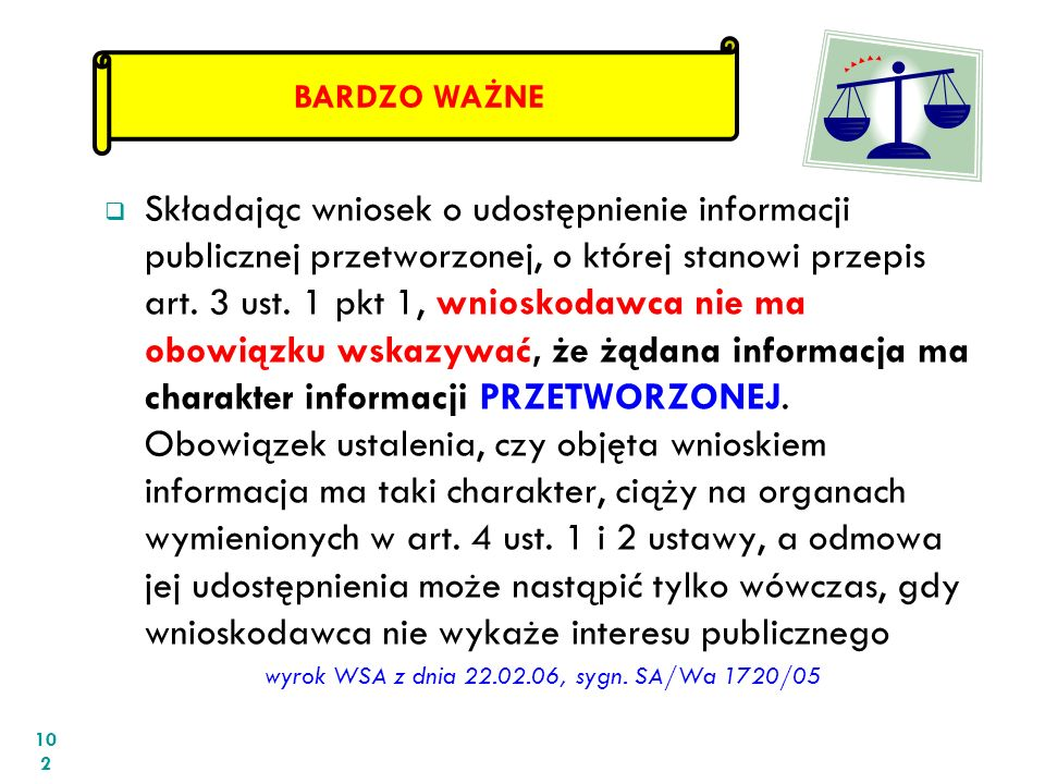 wyrok WSA z dnia 22.02.06, sygn. SA/Wa 1720/05