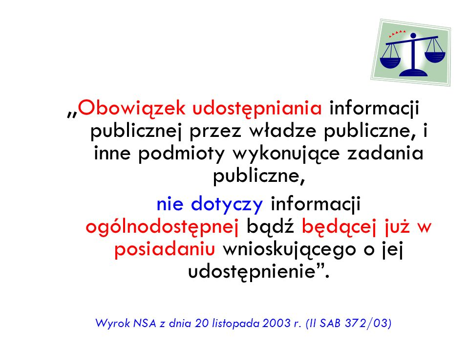 Wyrok NSA z dnia 20 listopada 2003 r. (II SAB 372/03)