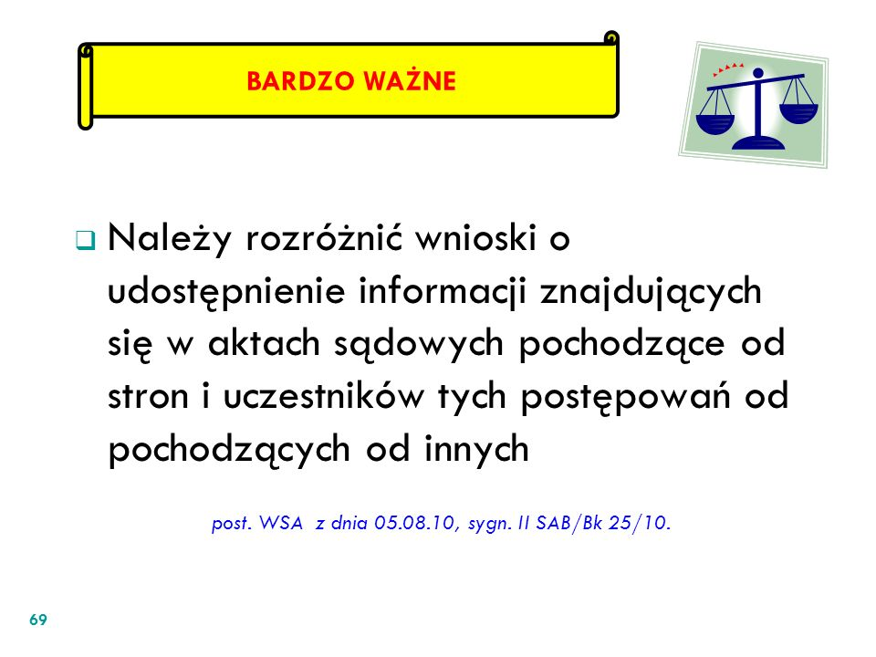 post. WSA z dnia 05.08.10, sygn. II SAB/Bk 25/10.