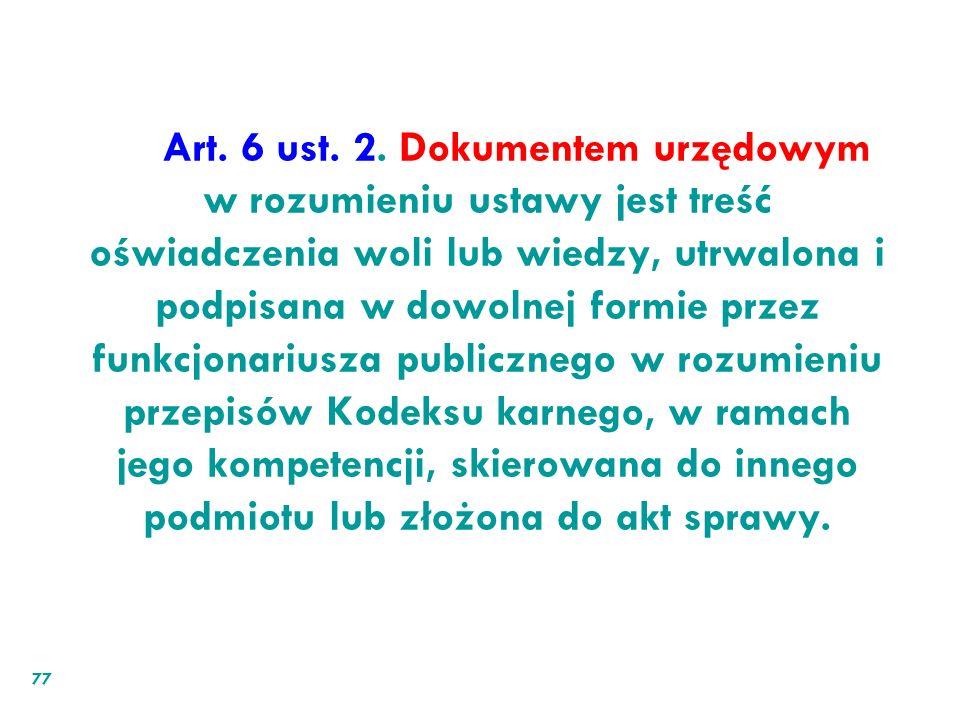 Art. 6 ust.