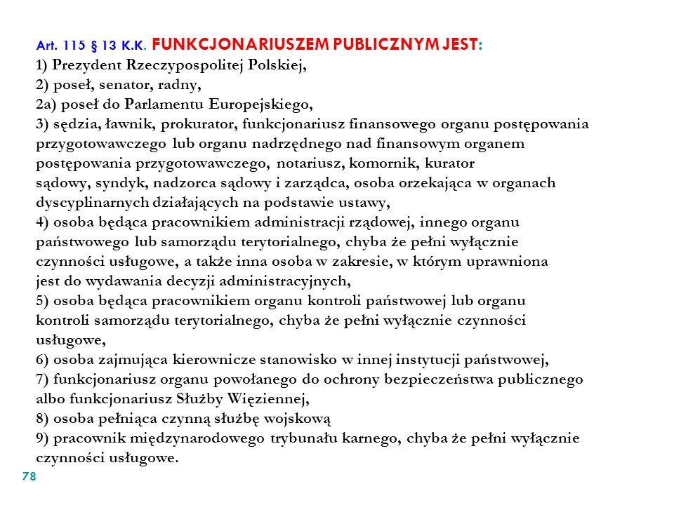 Art. 115 § 13 K.K.