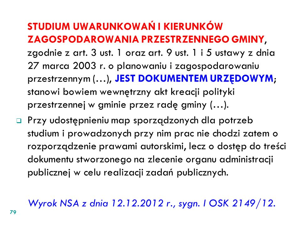 Wyrok NSA z dnia 12.12.2012 r., sygn. I OSK 2149/12.