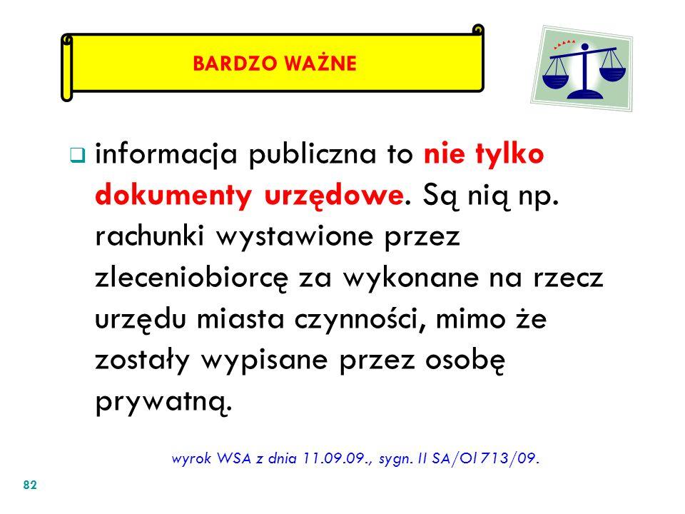 wyrok WSA z dnia 11.09.09., sygn. II SA/Ol 713/09.