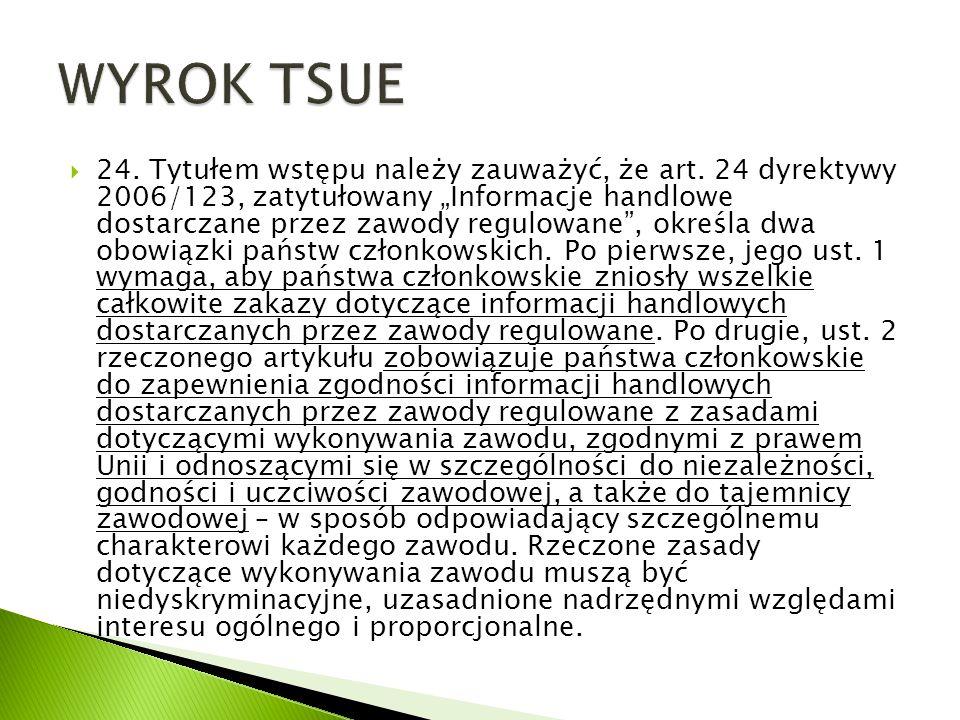 WYROK TSUE