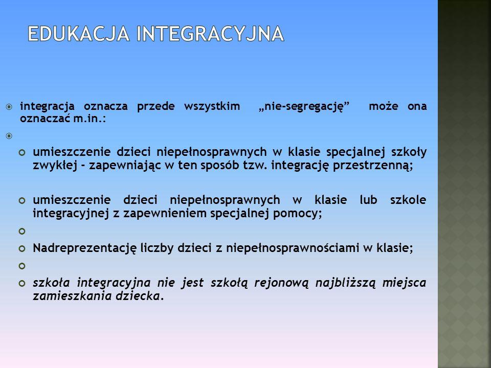 Edukacja integracyjna