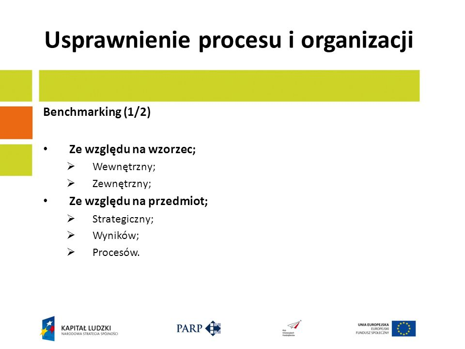 Usprawnienie procesu i organizacji