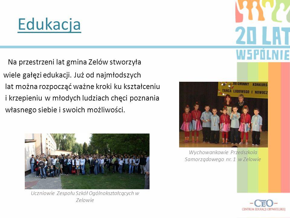 Edukacja Na przestrzeni lat gmina Zelów stworzyła