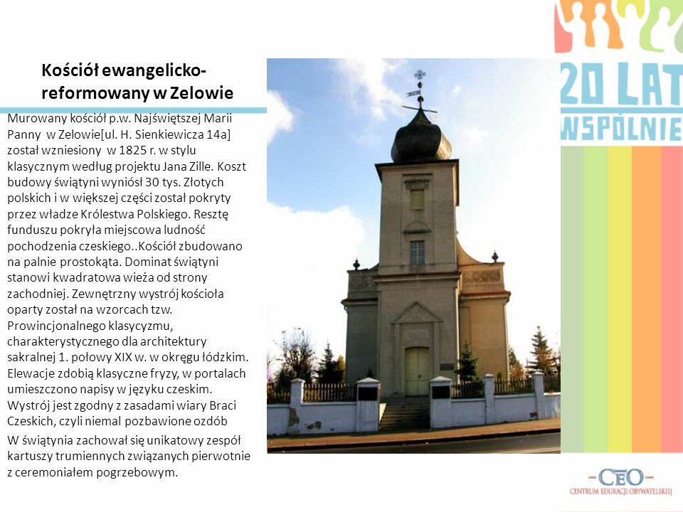 Kościół ewangelicko-reformowany w Zelowie