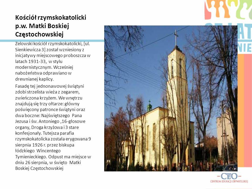 Kościół rzymskokatolicki p.w. Matki Boskiej Częstochowskiej