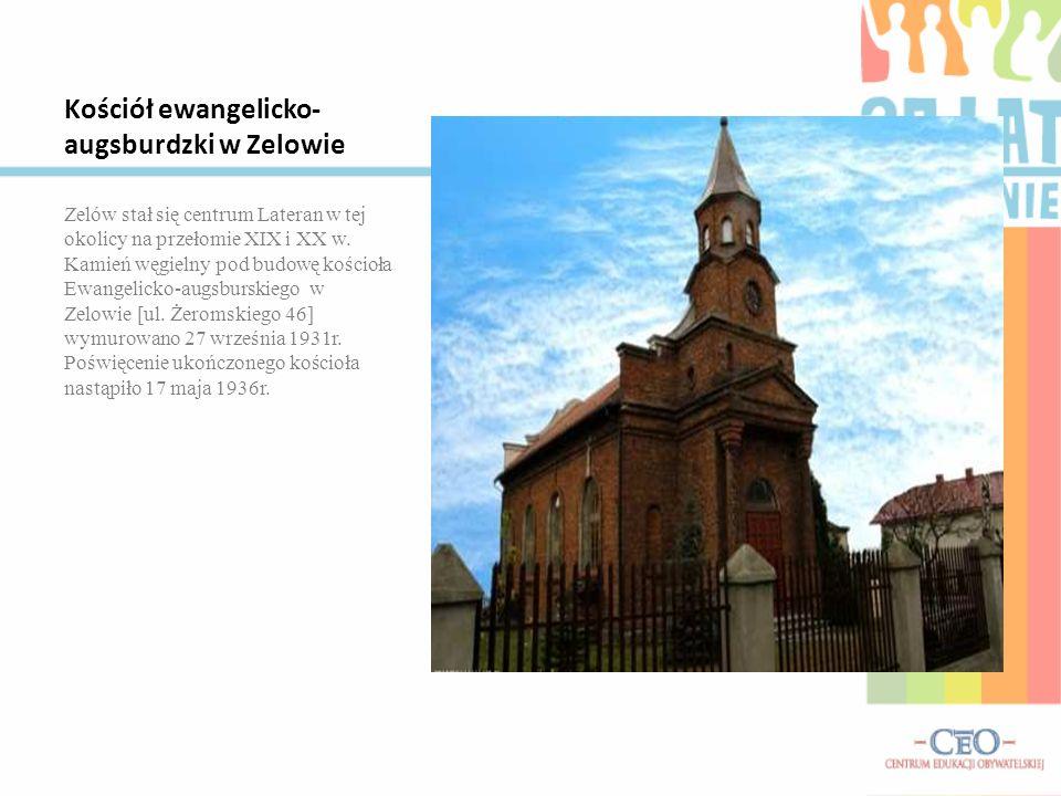 Kościół ewangelicko-augsburdzki w Zelowie