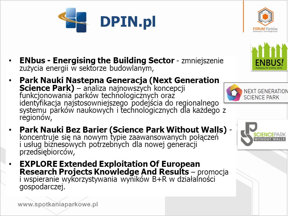 DPIN.plENbus - Energising the Building Sector - zmniejszenie zużycia energii w sektorze budowlanym,