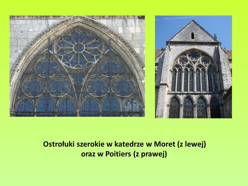 oraz w Poitiers (z prawej)