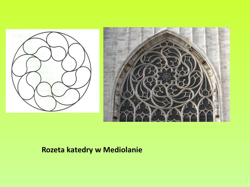 Rozeta katedry w Mediolanie