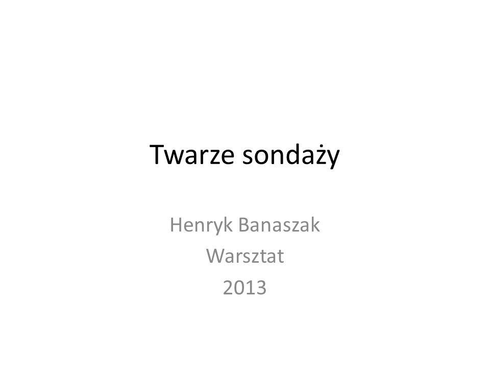 Henryk Banaszak Warsztat 2013