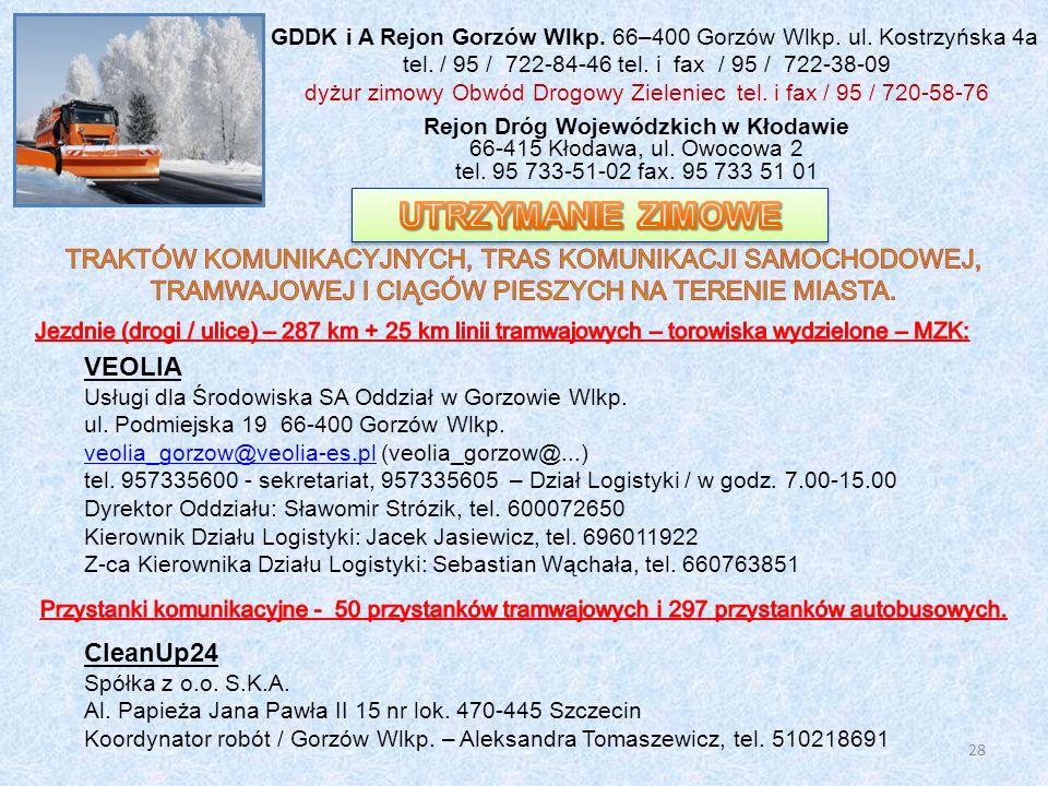 Rejon Dróg Wojewódzkich w Kłodawie