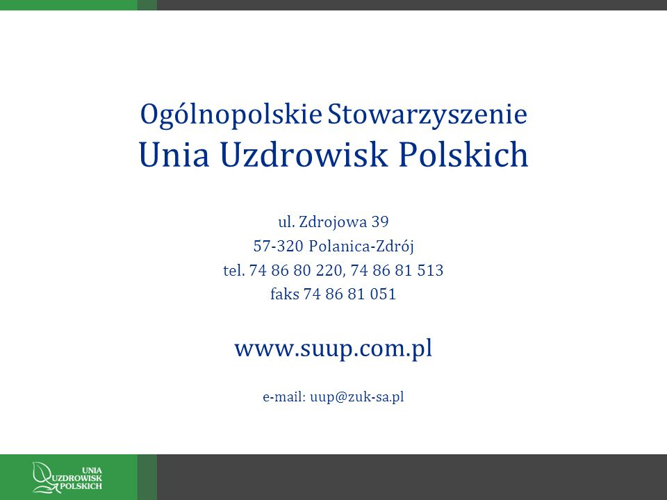 Ogólnopolskie Stowarzyszenie Unia Uzdrowisk Polskich