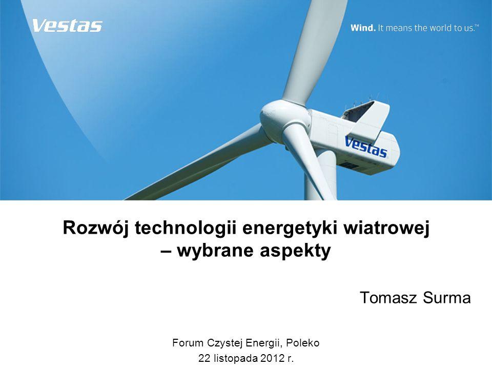 Rozwój technologii energetyki wiatrowej – wybrane aspekty