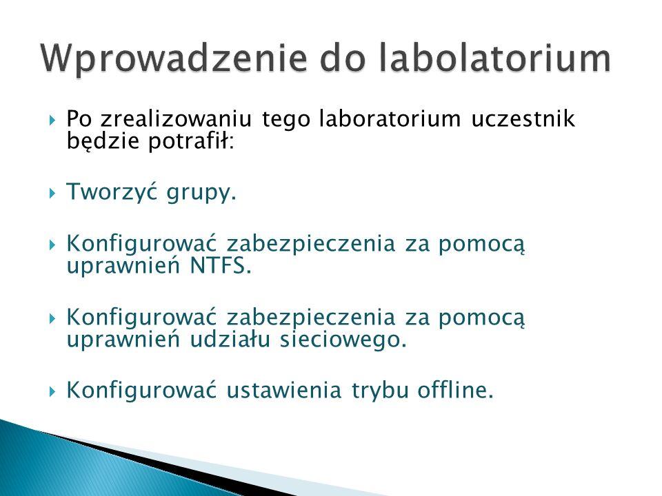 Wprowadzenie do labolatorium