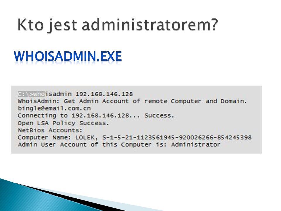 Kto jest administratorem