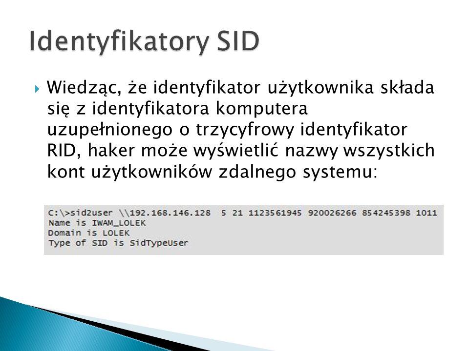 Identyfikatory SID