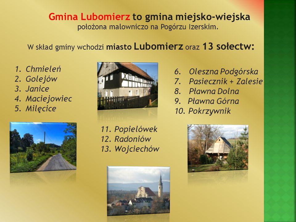 Gmina Lubomierz to gmina miejsko-wiejska
