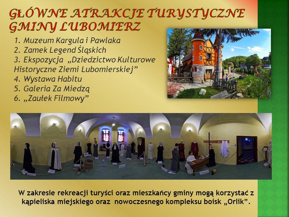 Główne atrakcje turystyczne Gminy Lubomierz