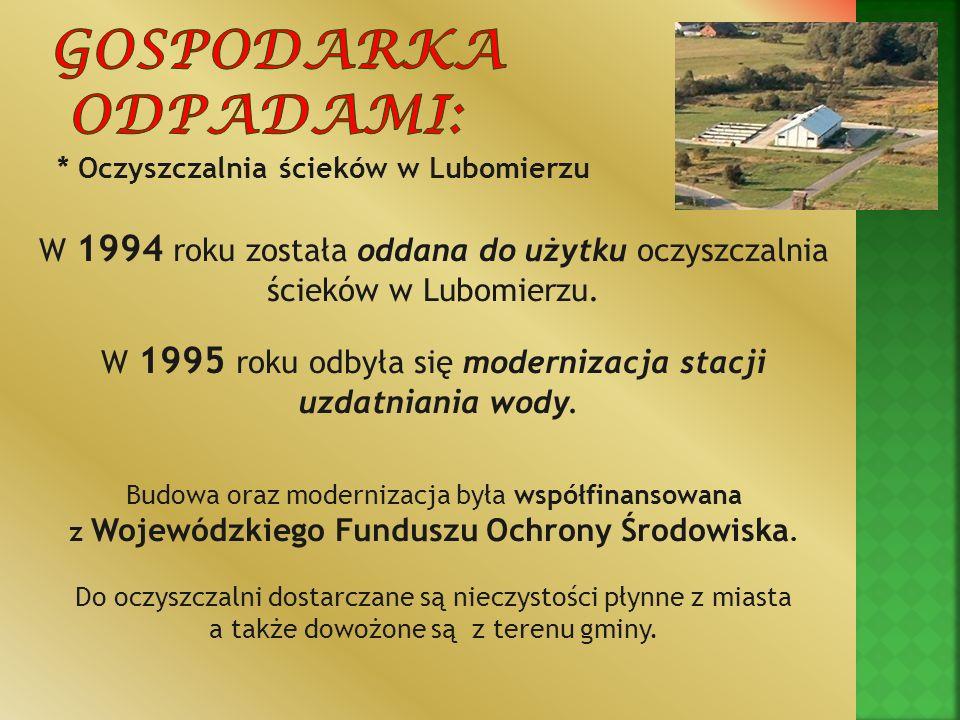 z Wojewódzkiego Funduszu Ochrony Środowiska.