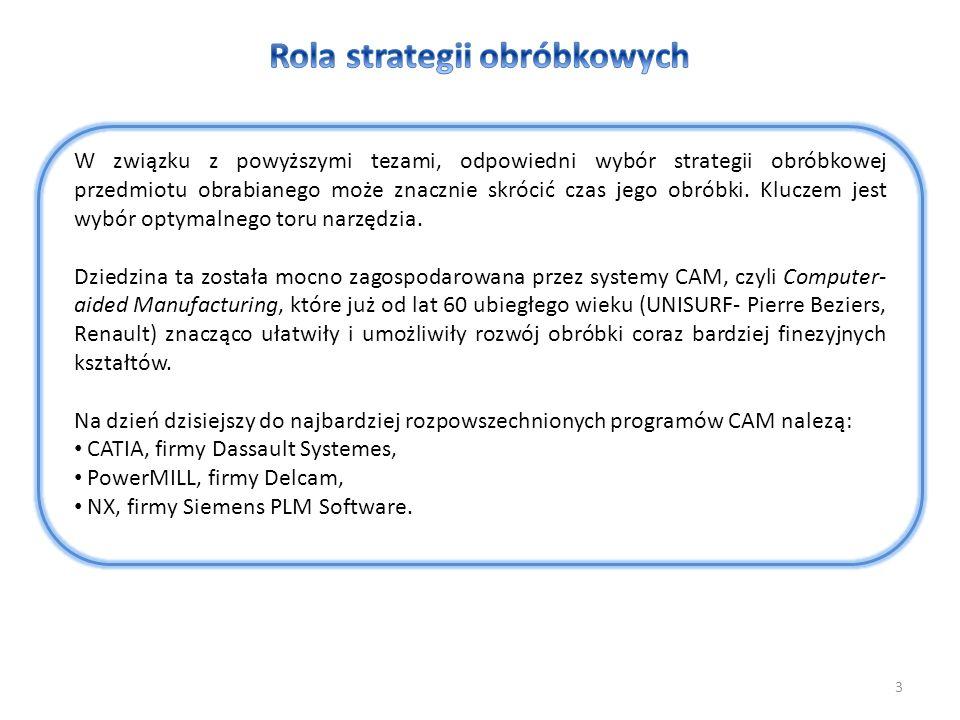 Rola strategii obróbkowych