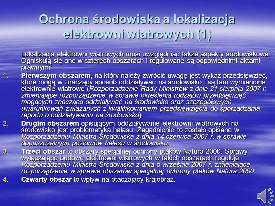 Ochrona środowiska a lokalizacja elektrowni wiatrowych (1)