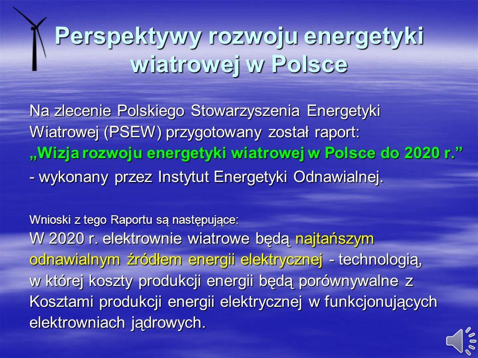 Perspektywy rozwoju energetyki wiatrowej w Polsce