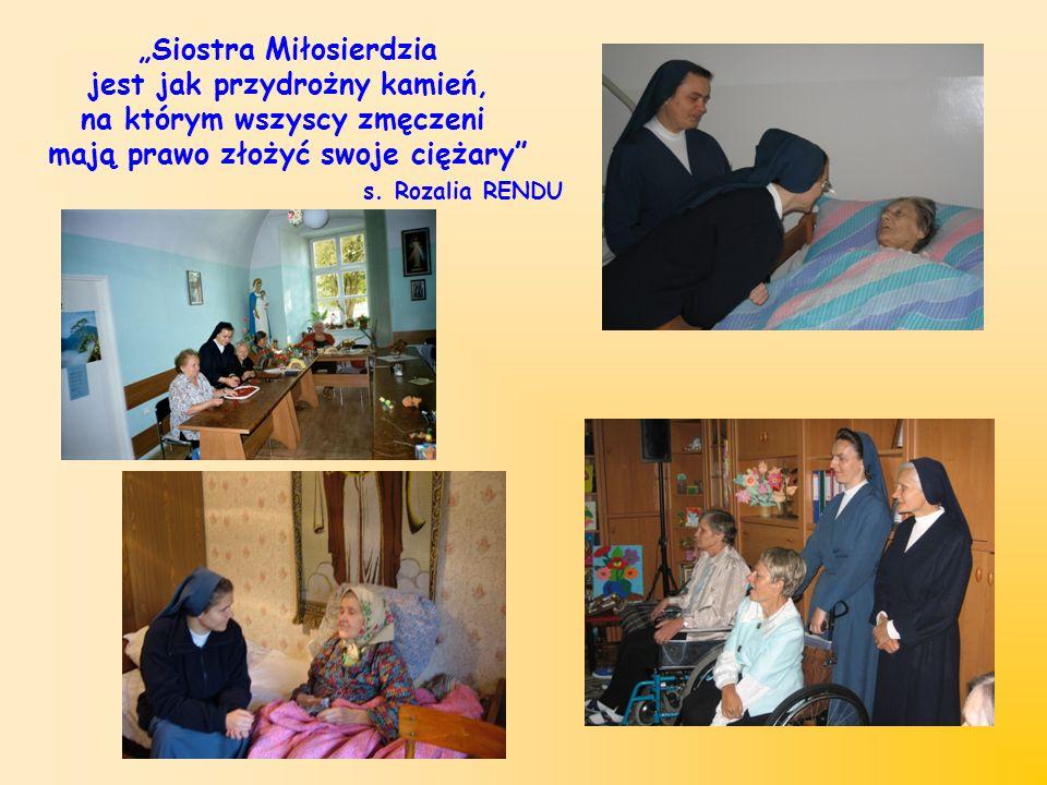 """""""Siostra Miłosierdzia jest jak przydrożny kamień,"""