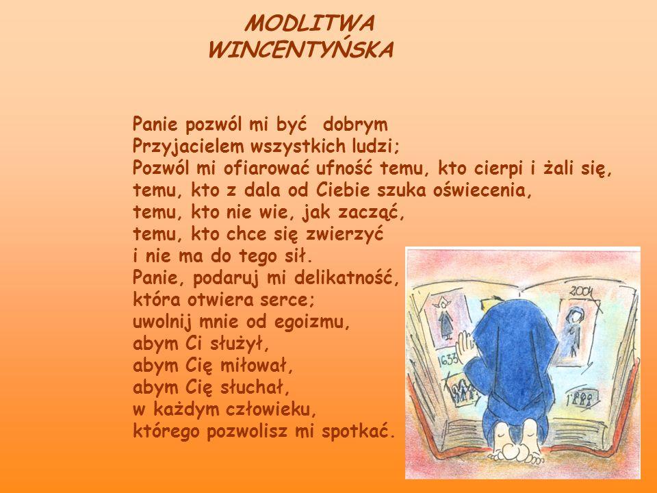 MODLITWA WINCENTYŃSKA