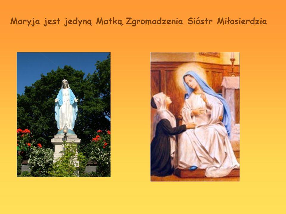 Maryja jest jedyną Matką Zgromadzenia Sióstr Miłosierdzia