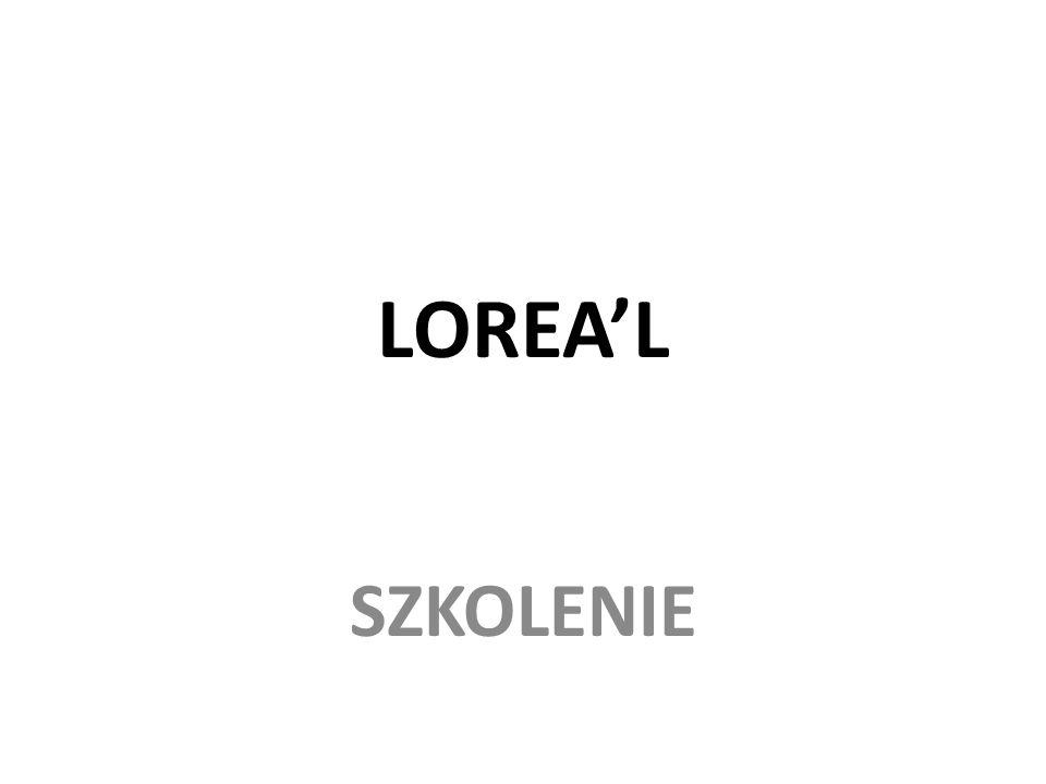 LOREA'L SZKOLENIE