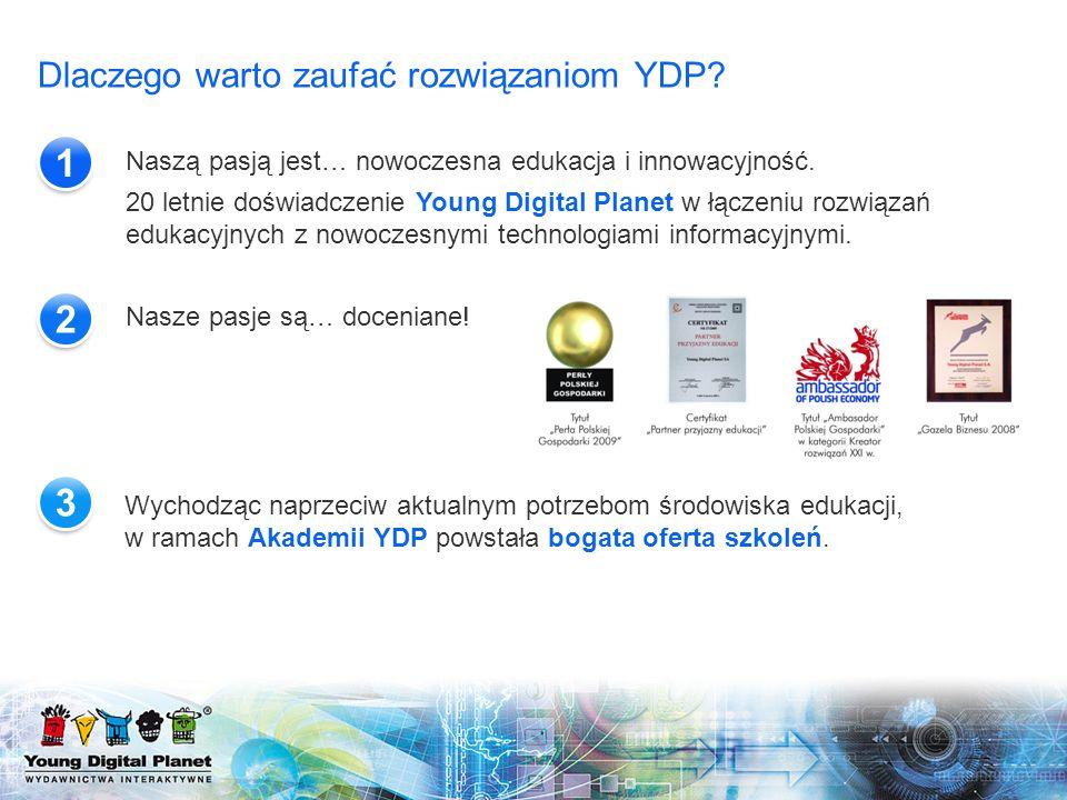 1 2 3 Dlaczego warto zaufać rozwiązaniom YDP