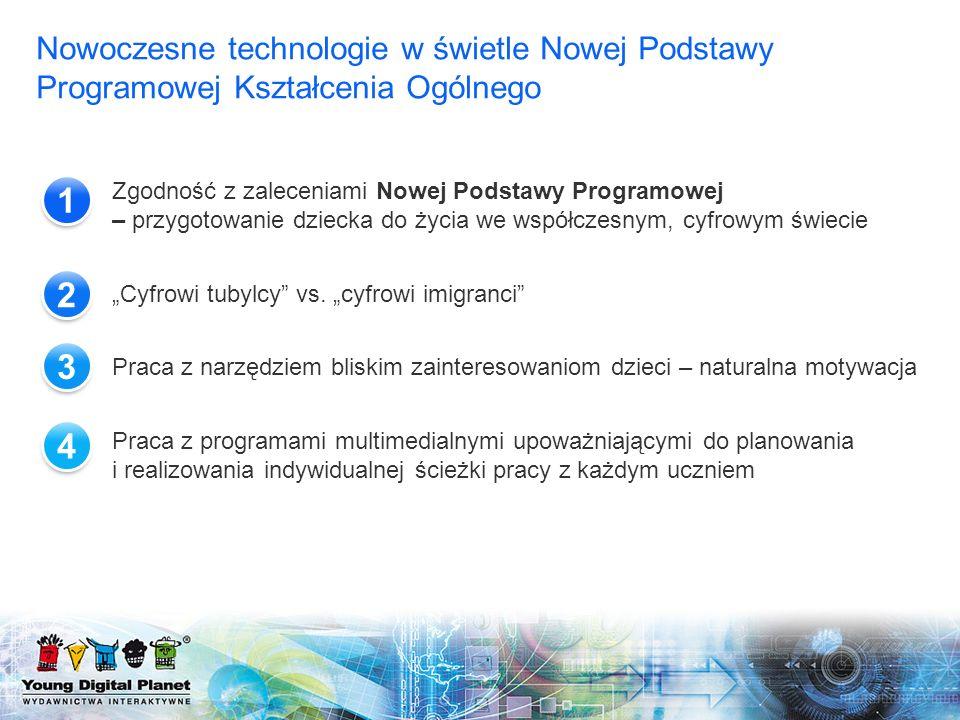 Nowoczesne technologie w świetle Nowej Podstawy Programowej Kształcenia Ogólnego