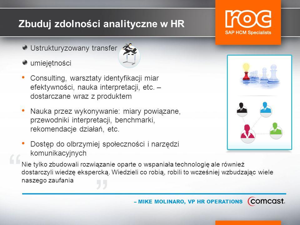 Zbuduj zdolności analityczne w HR